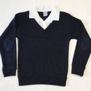 Рубашка обманка школьная